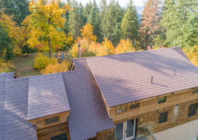 Regal Brown Slate Metal Roof in Hood River OR