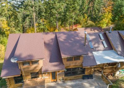 Slate Metal Roof Regal Brown