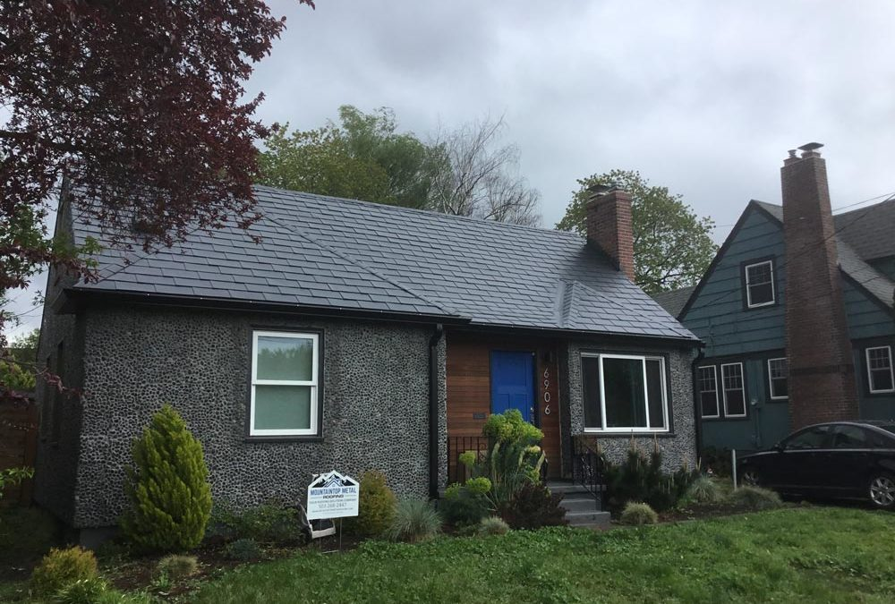 Putting metal roof on top of shingles