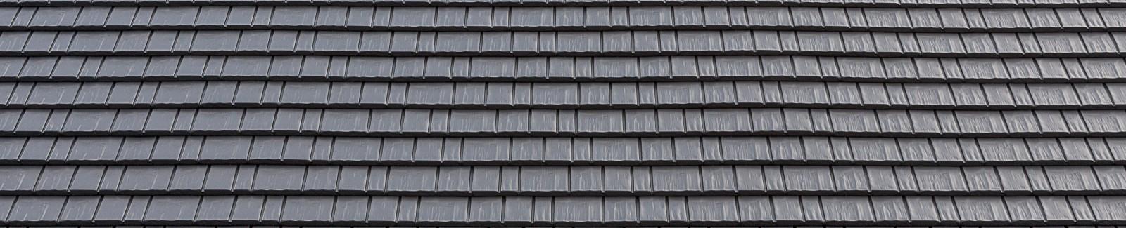 Cedar shake aluminum roofing